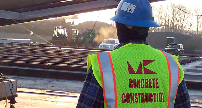 MK Concrete Construction - Residential & Commercial Services | Maryland